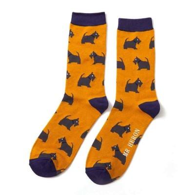 Socks (7-11) - Scotties - MH158 (Mustard)