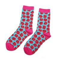 Socks (4-7) - Poppies-SKS101
