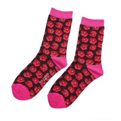 Socks (4-7) -Poppies-SKS101