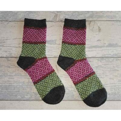 Socks (4-7) - Glitter Socks - SK812