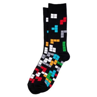 Socks (7-11) - Tetris (Black)