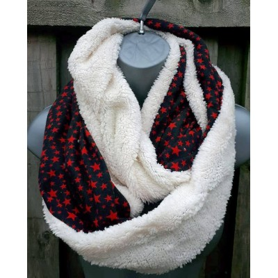 Fleece Lined Mini Star Snood