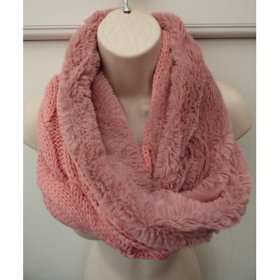 Plain Knit Twist Snood