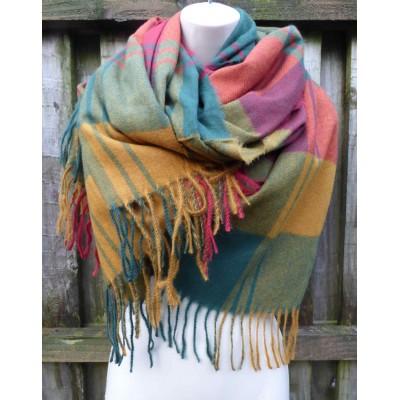 Autumnal Tones Winter Wrap (N1220)