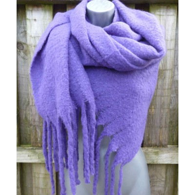 Plain Purple Wrap (9446)