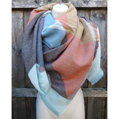 Square Blanket Wrap 2C02 (Multi)