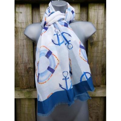 Anchors (White / Blue)